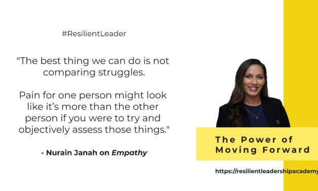 Power of Moving Forward With Nurain Janah