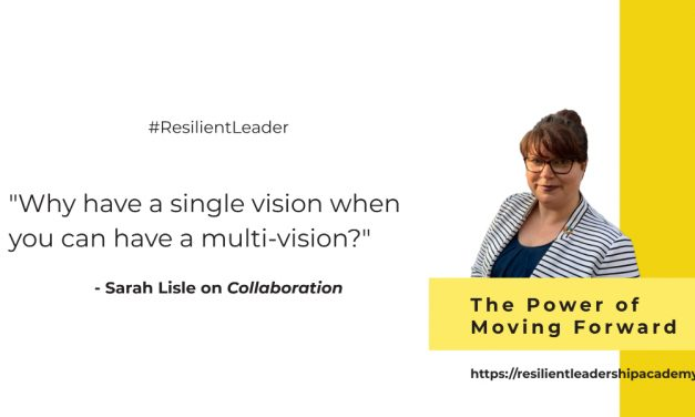 Power of Moving Forward With Sarah Lisle