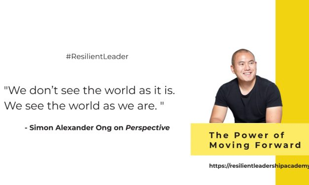 Power of Moving Forward With Simon Ong